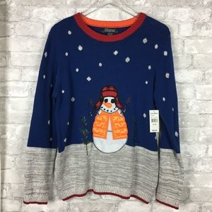 33 Degrees Ugly Christmas Snowman Sweater